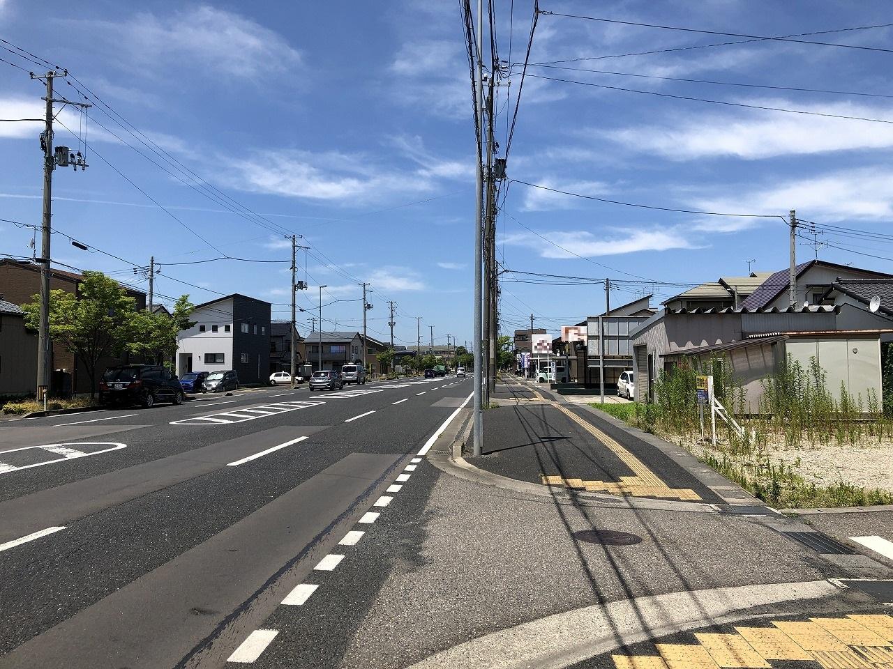 新潟県新潟市東区東中野山1丁目の区画図