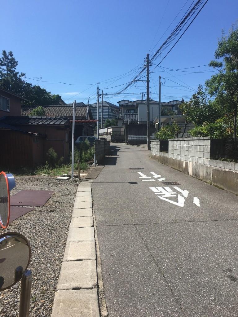 新潟県新潟市西区寺尾の区画図