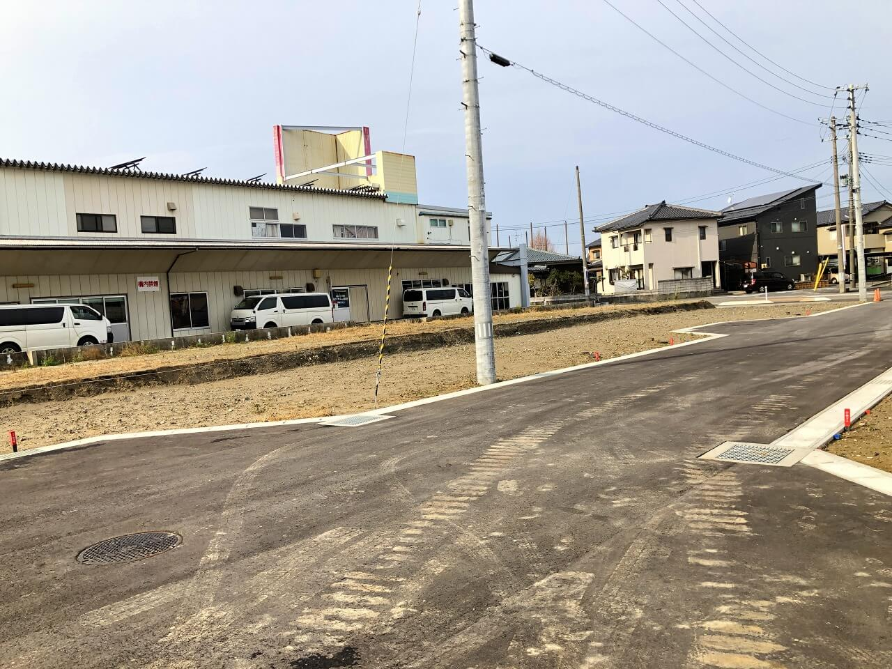 新潟県新潟市南区 鷲ノ木新田の区画図