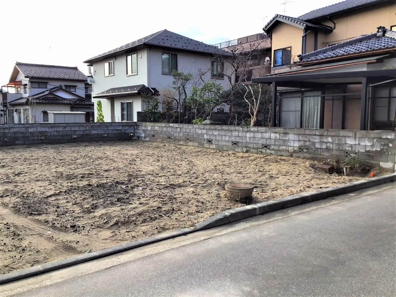 新潟県新潟市西区小針藤山の区画図