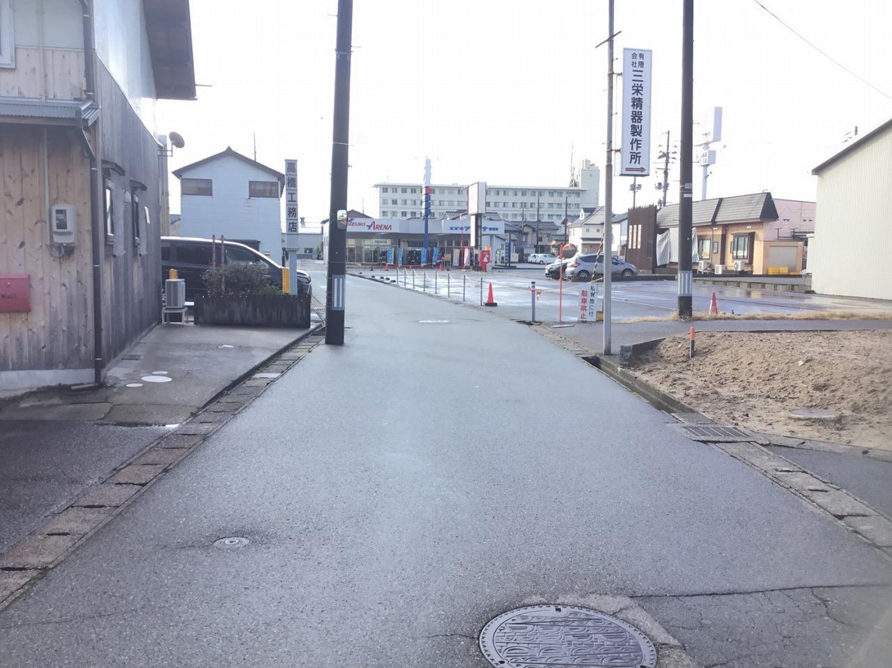 新潟県新潟市東区豊2丁目の区画図