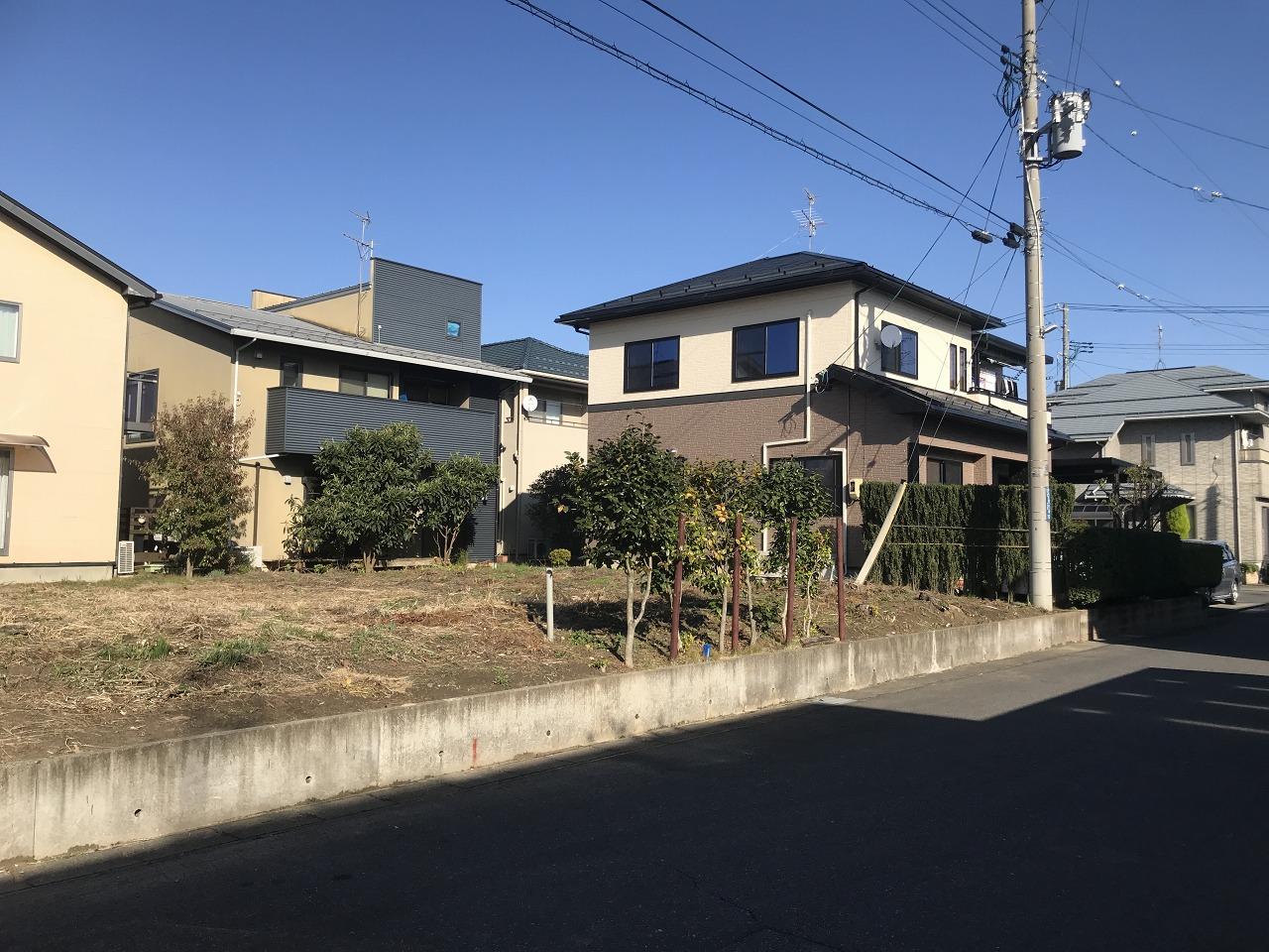 新潟県新潟市秋葉区あおば通2丁目の区画図