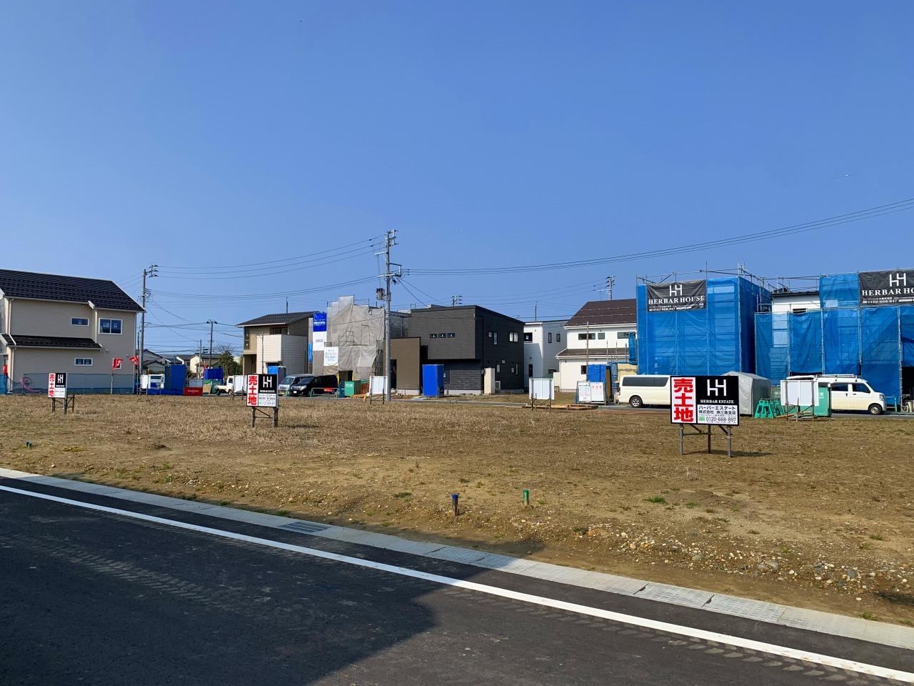 新潟県三条市上須頃の区画図