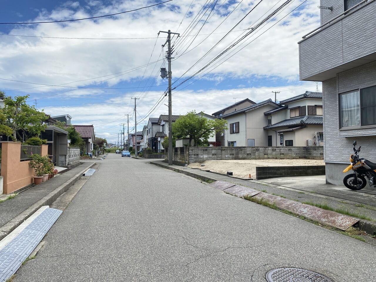 新潟県新潟市西区坂井の区画図