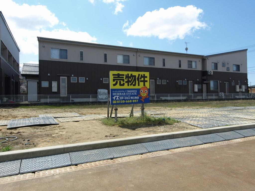 新潟県三条市東裏館の区画図