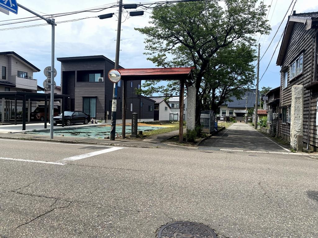 新潟県上越市春日新田1丁目の区画図