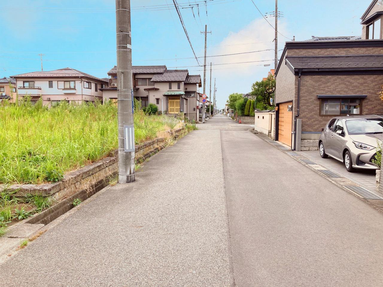 新潟県新潟市中央区 京王3丁目の区画図