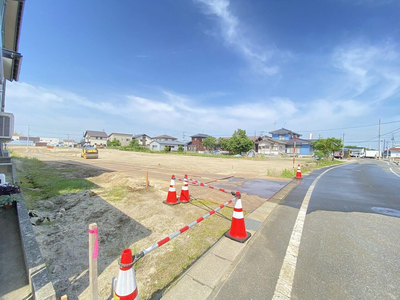 新潟県北蒲原郡聖籠町山大夫の区画図